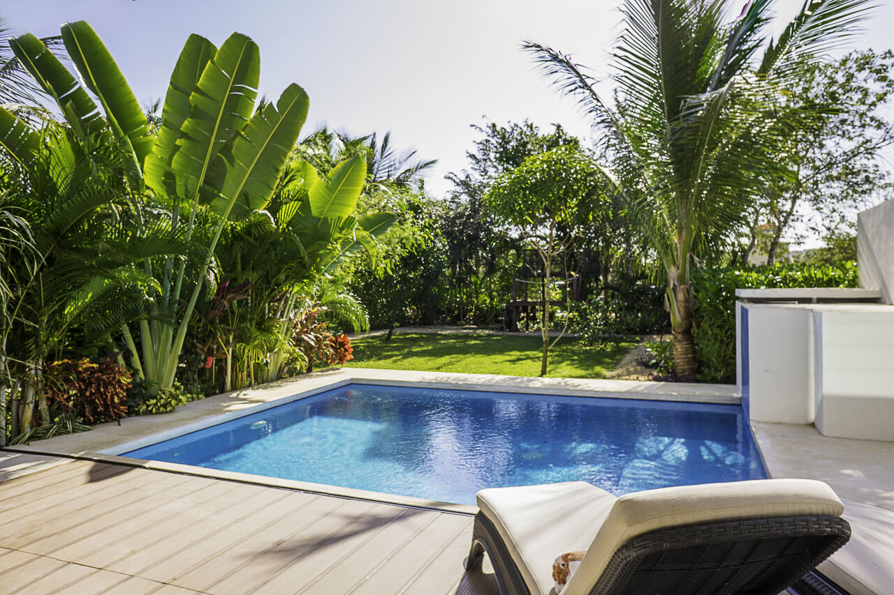Apartment Villa 34     Luxury Jungle 2BD Villa     Private Pool   Garden photo 24803652