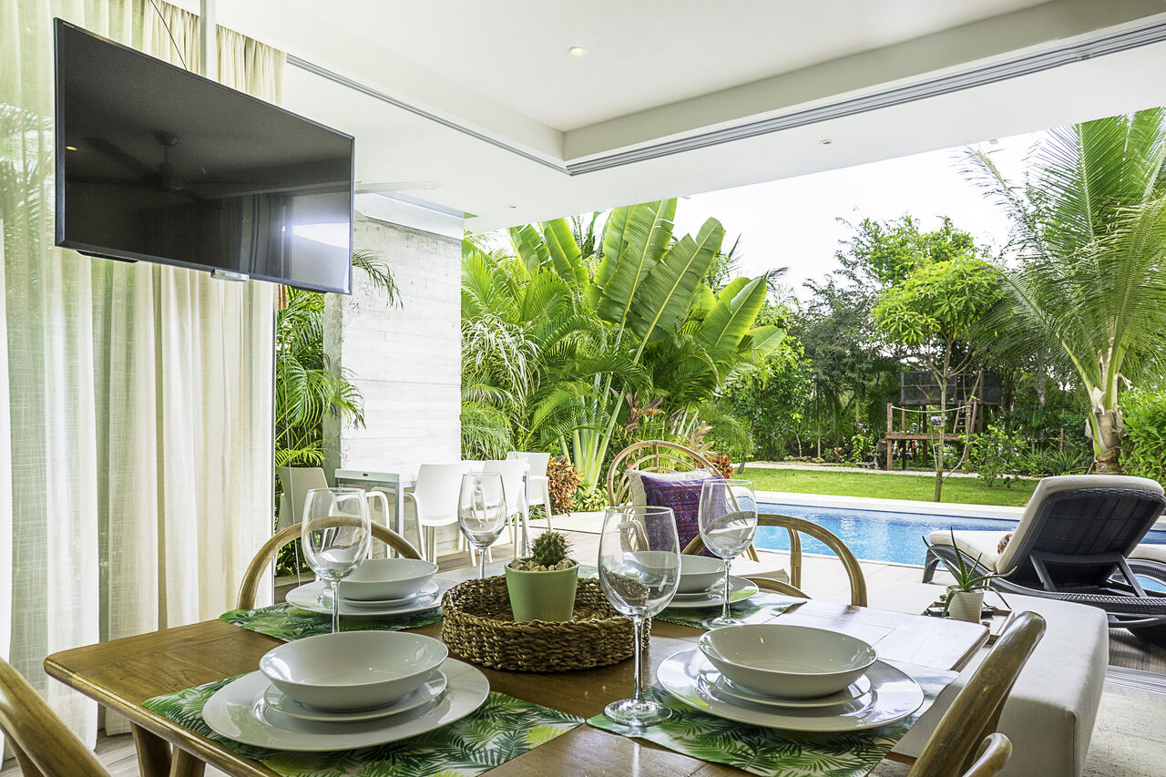 Apartment Villa 34     Luxury Jungle 2BD Villa     Private Pool   Garden photo 24803657