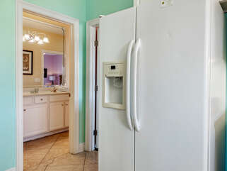Refrigerator, one of two!