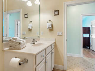 And Bathroom 4, for bedroom 4, is across the hall.