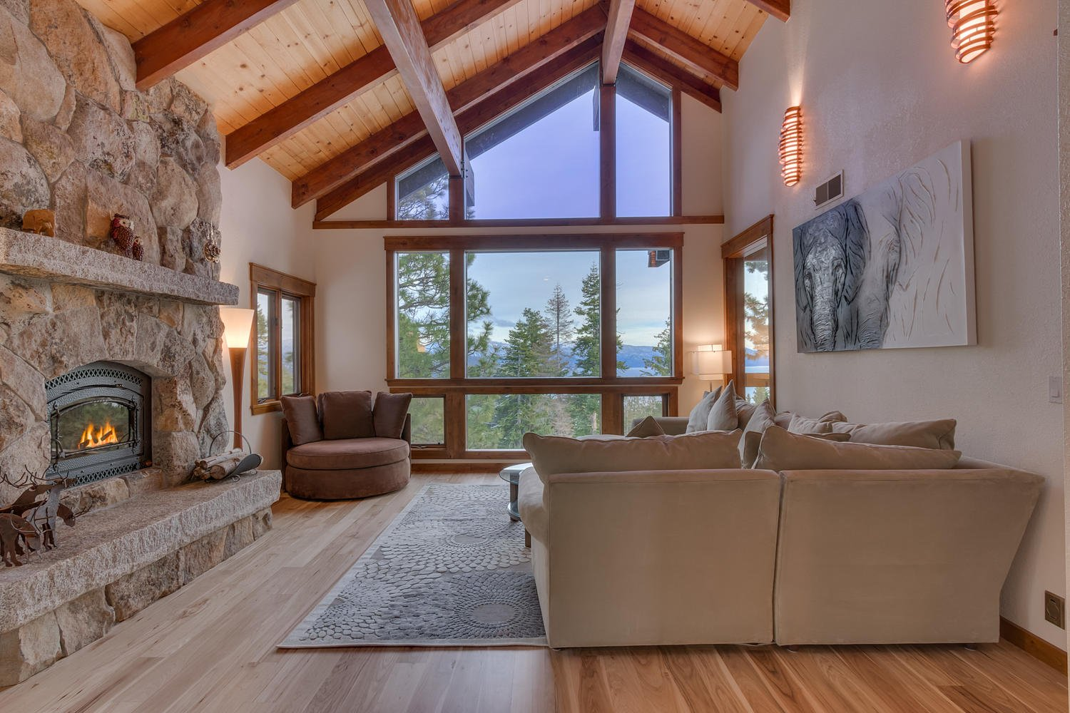 Kings Way Tahoe lake view vacation rental