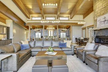 Beautiful 2 story main living area