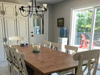 Dining Area, Otter Lake