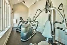 Fitness Center Located at the Pool