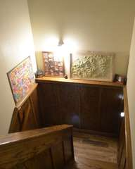 Stairway to Downstairs Suite