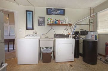 Washer / Dryer Room