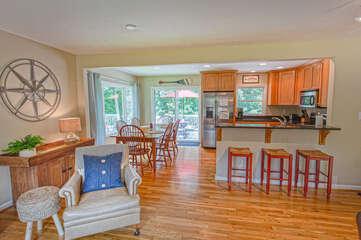 open floor living area