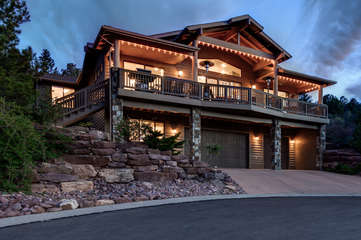 Custom home within walking distance of Green Valley Park and downtown is a dream come true mountain retreat