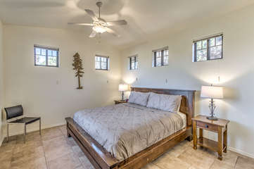 No reason to argue about sleeping accommodations when there are king beds in 3 of 4 bedrooms