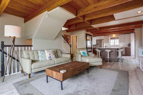Stylish living room, 2nd floor