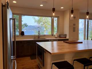 Paradise Found, Modern Dream Home on Ashley Lake, Kitchen
