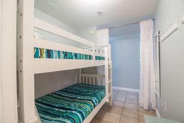 Vibrant bunk area