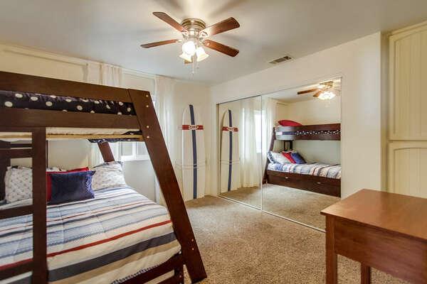 Guest Bedroom 2 - Full/Twin Bunk Bed