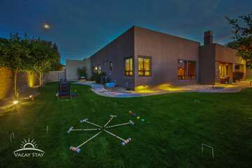 Huge grass area with lots of games