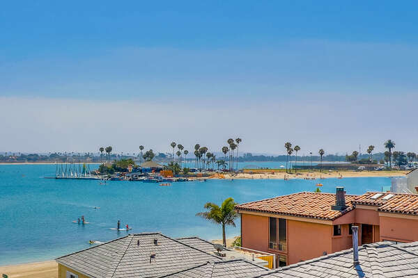Incredible Bay Views from Roof Deck