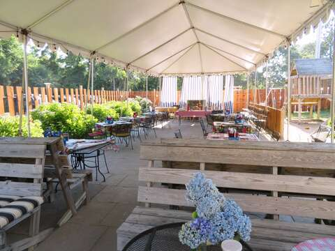 Plenty of dining options in the area. Laurino's offers casual inside or outside dining with great pizza and a full bar! - Brewster Cape Cod - New England Vacation Rentals