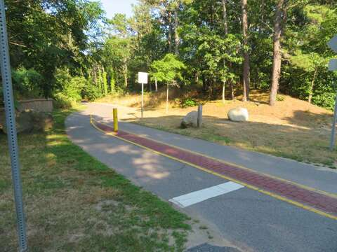 Bike path is just under a mile from the house. Just cross 6A onto Seaview and you can hop on the Rail Trail. - Brewster Cape Cod - New England Vacation Rentals