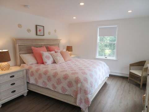Bedroom 2 with a King Bed - 162 Owl Pond Brewster Cape Cod - New England Vacation Rentals