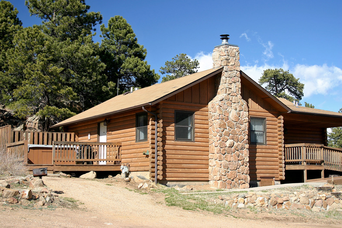 Surprising Estes Park Cabins With Hot Tubs Longs Peak 17 Lazy R Home Interior And Landscaping Ferensignezvosmurscom