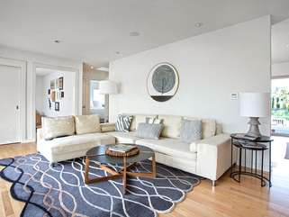 Modern and upscale, yet easygoing and relaxed