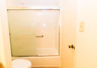 Bathroom shower/tub combination