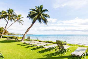 Tropical ocean views on property
