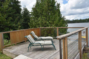 Lake Side Deck