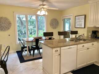 **Recently Added 3 New Counter Height Chairs** Fully stocked, open kitchen