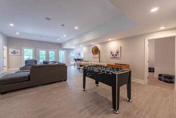 Game Room - the perfect Lakecation addition