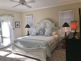 Master Bedroom - King with French doors to deck