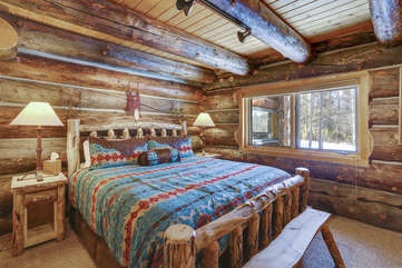 Guest bedroom 2 with great views
