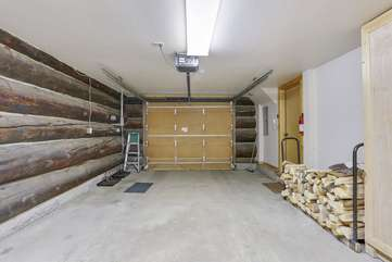 Garage next to side entry