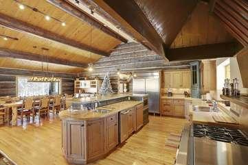 Amazing chef's kitchen