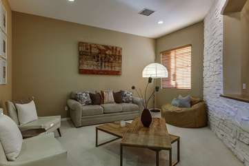 Melrose Place was completely furnished by a professional decorator with contemporary furnishings