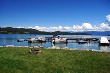 Lakeshore Retreat Flathead Lake