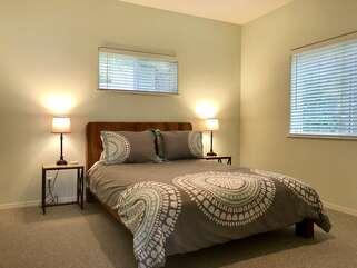 Lakeshore Retreat Bedroom with Queen bed