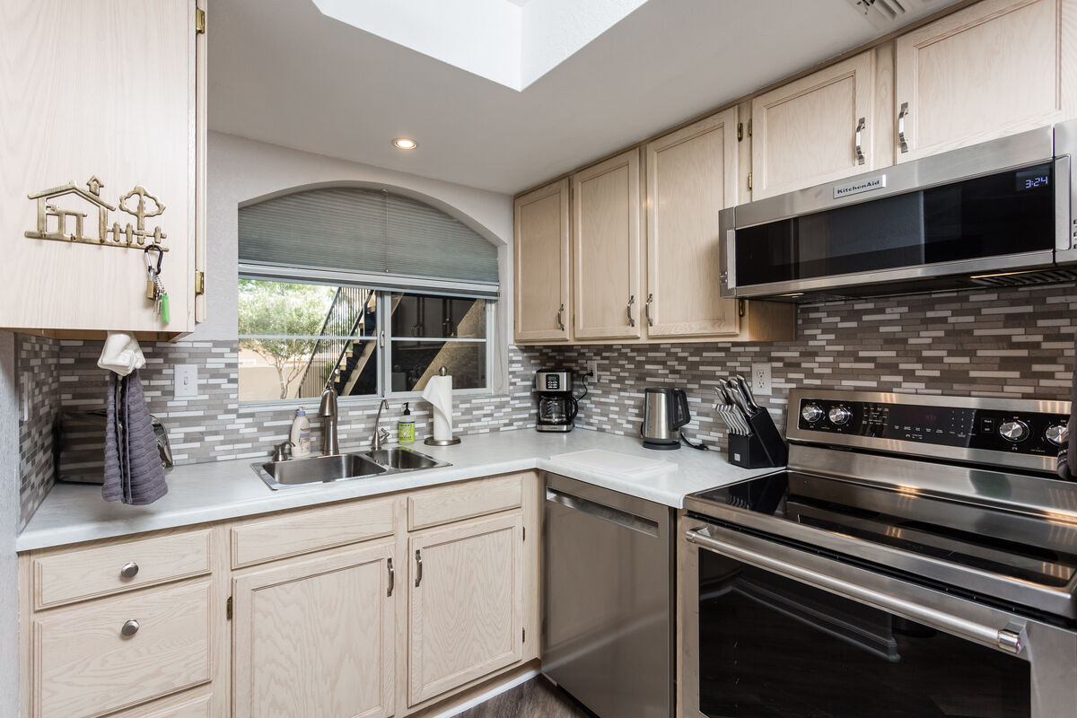 Upgraded kitchen to make cooking an activity rather than a chore