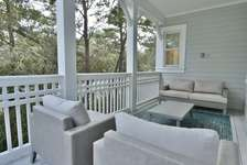 First Floor Porch with Views of 30A