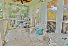 Large Screened Porch Overlooks The Pool
