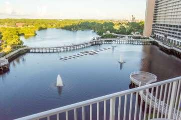 Breathtaking balcony views
