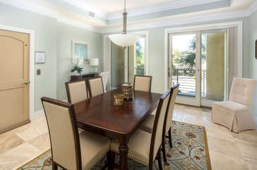 Formal dining space to accommodate your guests!