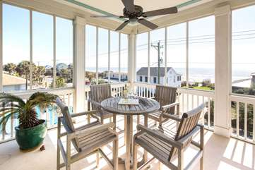 2nd Floor Porch - Ocean Views!