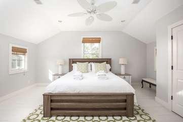 2nd Floor King Bedroom with Shared Bathroom