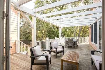 Back Porch off Living Room
