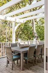 Dining Area on Back Porch