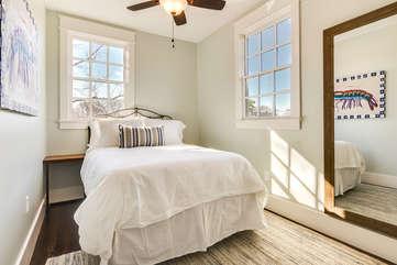 2nd Floor Queen Bedroom with Shared Bathroom