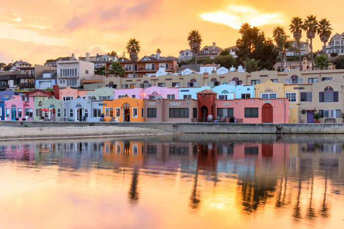 Capitola at Sunset is a dream!