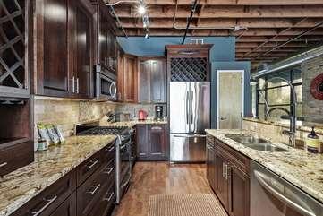 Brazos Loft | Kitchen