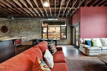 Brazos Loft | Living Room