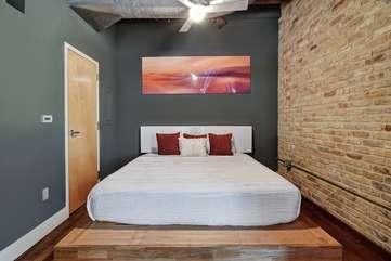 Brazos Loft | BedroomQueen bed